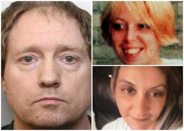 Gary Allen has been found guilty at Sheffield Crown Court of the murders of two women, Samantha Class (top right) and Alena Gralakova (bottom right) - (PA and Yorkshire Post)