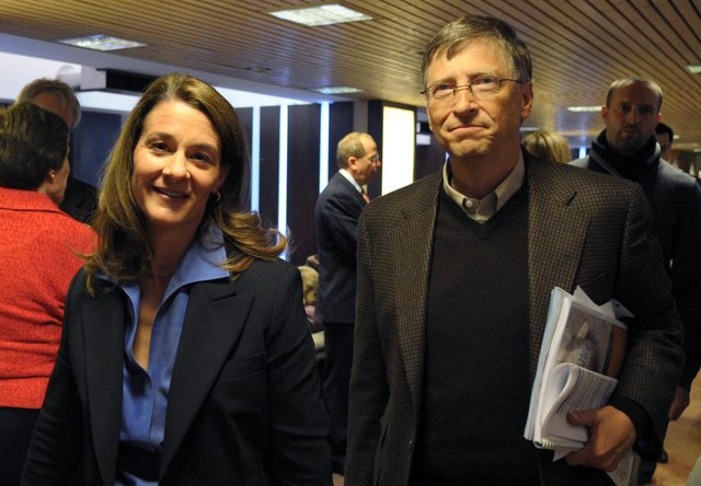 Bill and Melinda Gates have announced they are splitting up after 27 years of marriage (Eric Piermont/AFP via Getty)