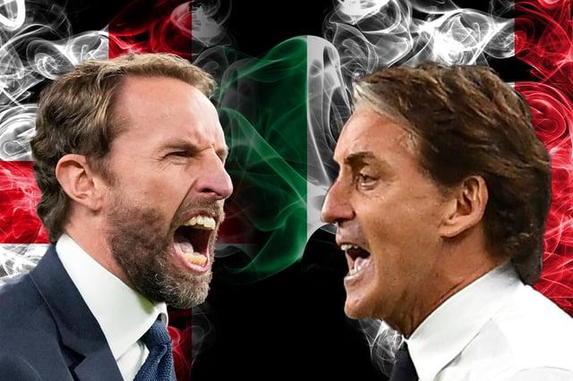 Gareth Southgate and Roberto Mancini