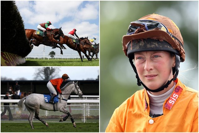 Jockey Lorna Brooke died after a fall earlier this month