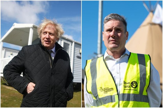 Boris Johnson PMQ's rant: what did PM say in his angry response to Keir Starmer at Prime Minister's Questions? (Photos by Tom Nicholson - WPA Pool/Getty Images & Polly Thomas/Getty Images)